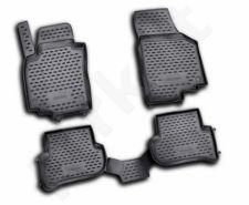 Guminiai kilimėliai 3D SKODA Yeti 2009->, 4 pcs. /L57010