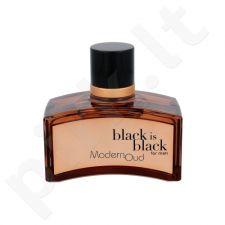 Nuparfums Black is Black Modern Oud, EDT vyrams, 100ml