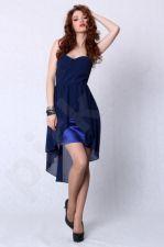 4207-3 Suknelė ilga mėlyna