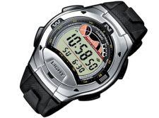 Casio Collection W-753-1AVES vyriškas laikrodis-chronometras