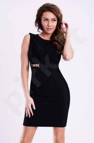 Emamoda suknelė - juoda 12016-2