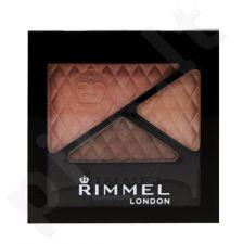 Rimmel London Glam akių Trio akių šešėliai, 4,2g, kosmetika moterims