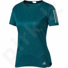 Marškinėliai bėgimui  adidas Response Tee W BQ7962
