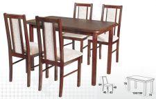 Stalas MAX IV + 4 kėdės BOSS XIV