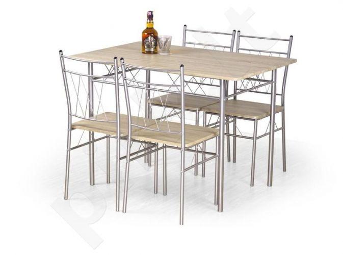 FAUST komplektas: stalas + 4 kėdės