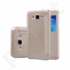 Samsung Galaxy J5 Sparkle dėklas Nillkin auksinis
