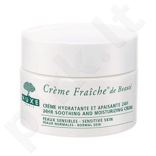Nuxe Creme Fraiche 24hr Raminantis kremas normaliai odai, kosmetika moterims, 50ml[pažeista pakuotė]