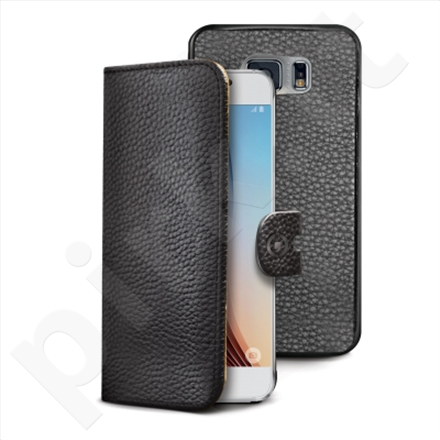 Celly wallet 2-in-1 case for Samsung Galaxy S6 (Black)
