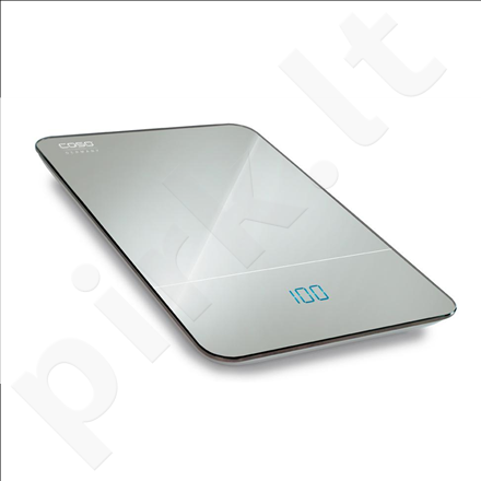 Caso F10 Kitchen Scales, Mirrored surface, up to 10 kg, Touch Operation on the sides, Tare function