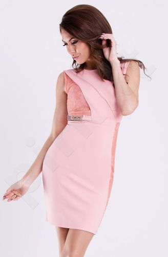 Emamoda suknelė - rausva 12016-3