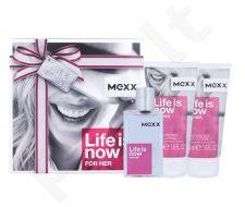 Mexx Life Is Now For Her, rinkinys tualetinis vanduo moterims, (EDT 30 ml + kūno losjonas 2x50 ml)