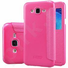 Samsung Galaxy J5 Sparkle dėklas Nillkin raudonas