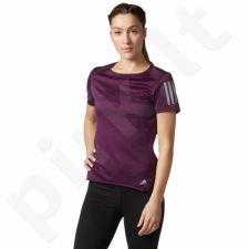 Marškinėliai bėgimui  adidas Response Tee W BQ7964