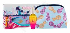 ESCADA Miami Blossom, rinkinys tualetinis vanduo moterims, (EDT 30 ml + kosmetika krepšys)