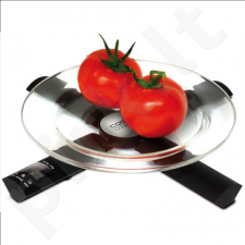 Caso X3 Kitchen Scales, up to 3kg, Digital clock, Countdown timer with alarm, Black