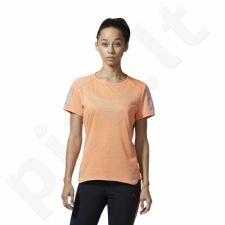 Marškinėliai bėgimui  adidas Response Short Sleeve Tee W BP7455