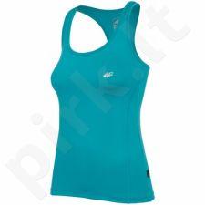 Marškinėliai treniruotėms 4F W T4L16-TSDF001 turkio spalvos