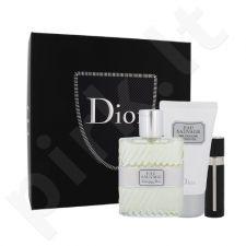 Christian Dior Eau Sauvage rinkinys vyrams, (EDT 100 ml + dušo želė 50 ml + EDT daugkartinis papildymas (refill)able) 3 ml)