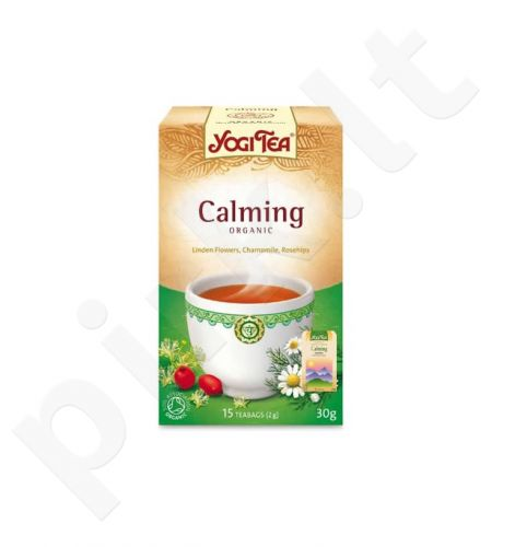 Raminamoji arbata YOGI TEA, 17 vnt