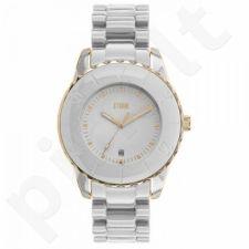 Moteriškas laikrodis Storm New Vesta Gold White
