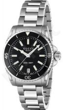 Laikrodis GUCCI  DIVE MD BLACK YA136403