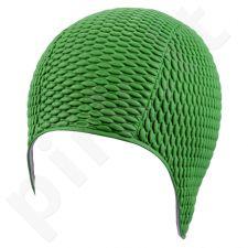 Kepuraitė plauk. mot. gum. BUBBLE 7300 8 green