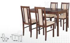 Stalas MAX VI + 4 kėdės BOSS XIV