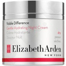 Elizabeth Arden Visible Difference, Gentle Hydrating, naktinis kremas moterims, 50ml