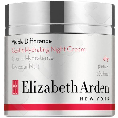 Elizabeth Arden Visible Difference, Gentle Hydrating, naktinis kremas moterims, 50ml