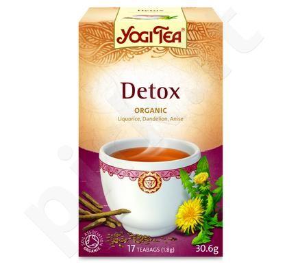 Detoksikuojanti arbata YOGI TEA, 17 vnt