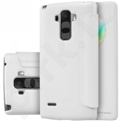 LG K10 Sparkle dėklas Nillkin baltas