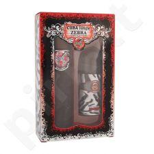 Cuba Jungle Zebra rinkinys moterims, (EDP 100 ml + dezodorantas 50 ml)