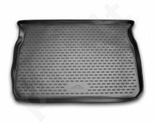 Guminis bagažinės kilimėlis PEUGEOT hb 208 2013-> black /N30005