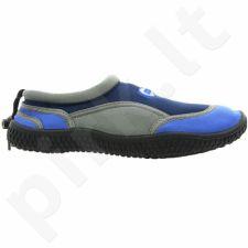 Sportiniai bateliai  plażowe neoprenowe Aqua-Speed Jr tamsiai mėlyna-szare
