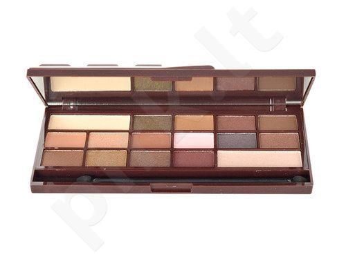 Makeup Revolution London I Love Makeup I Heart Chocolate Palette, akių šešėlių paletė, kosmetika moterims, 22g