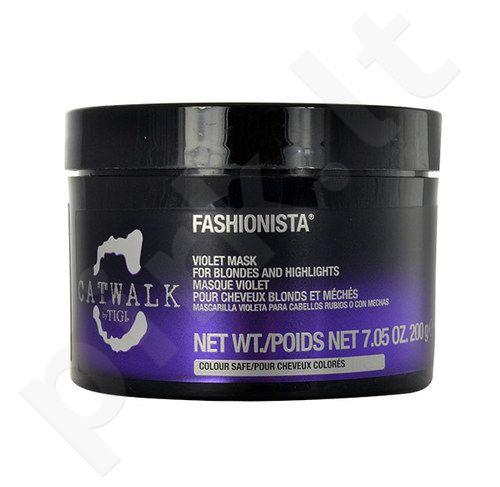 Tigi Catwalk Fashionista  Violetinė plaukų kaukė, kosmetika moterims, 200g