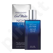 Davidoff Cool Water Night Dive, EDT vyrams, 75ml