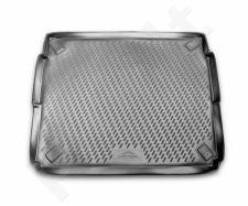 Guminis bagažinės kilimėlis PEUGEOT 3008 2009-2016  (upper boot) black /N30007