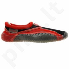Sportiniai bateliai  plażowe neoprenowe Aqua-Speed Jr czerwono-szare