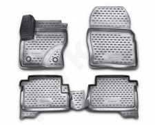 Guminiai kilimėliai 3D FORD Kuga 2013->, 4pcs. /L19023G /gray