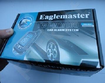 Automobilių apsaugos sistema EAGLEMASTER E5 CL-7500 LCD