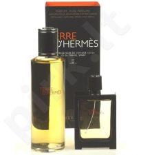 Hermes Terre D Hermes Parfum rinkinys vyrams, (perfume 30 ml daugkartinis (papildymas (refill)able) bottle + perfume 125 ml papildymas (refill))