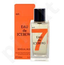 Iceberg Eau de Iceberg Sensual Musk, EDT moterims, 100ml