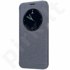 Samsung Galaxy S7 Edge atverčiamas dėklas Sparkle Nillkin juodas