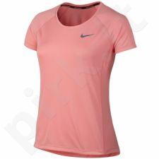 Marškinėliai bėgimui  Nike Dry Miler Top Crew W 831530-808