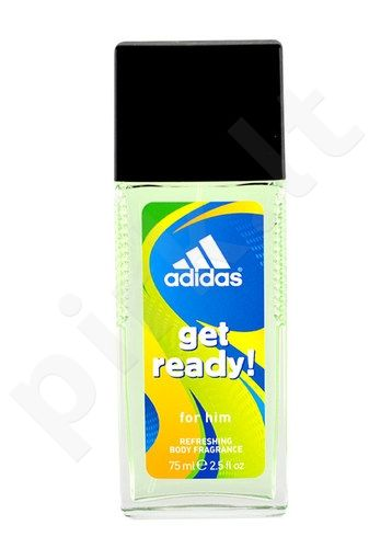 Adidas Get Ready!, dezodorantas vyrams, 75ml