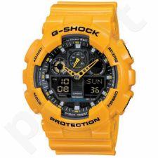 Vyriškas laikrodis Casio G-Shock GA-100A-9AER