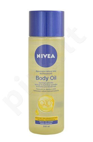 Nivea Q10 Firming kūno aliejus, kosmetika moterims, 200ml