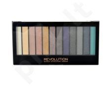 Makeup Revolution London Redemption Palette Essential Day To Night,  Aakių šešėlių paletė, kosmetika moterims, 14g
