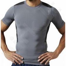 Marškinėliai treniruotėms Reebok WorkOut Ready Compression M  AJ3035